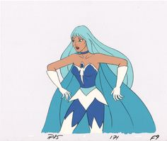 She-Ra Princess of Power FROSTA Production Art Cell Filmation 2* by…