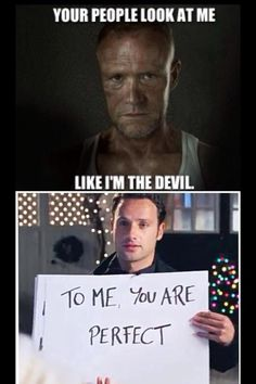 Love It!  The Walking Dead & Love Actually - two of my faves.