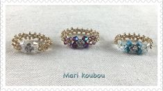 Beaded Jewelry Designs, Handmade Jewelry, Diamond Earrings, Stud Earrings, Beaded Rings, Youtube, Projects, Jewellery Project, Log Projects