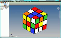 Rubik Cube Game in Autodesk Inventor 2015