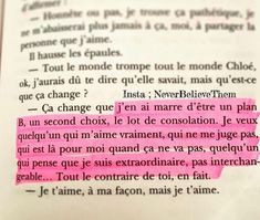Discover recipes, home ideas, style inspiration and other ideas to try. Some Quotes, Words Quotes, Sayings, Pretty Hurts, French Quotes, Life Thoughts, Bad Mood, So Much Love, Sentences