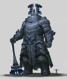 ArtStation - Giant of Fallen Mountain , Tooth Wu Fantasy Character Design, Character Design Inspiration, Character Art, Fantasy Monster, Monster Art, Fantasy Armor, Dark Fantasy, Fantasy Characters, Dnd Characters