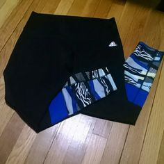 Long Adidas tights Cute Adidas tights in great condition, worn only 2-3 times. Adidas Pants Leggings