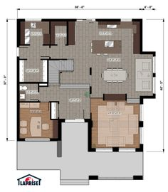 Fine Plan Maison Laprise that you must know, You?re in good company if you?re looking for Plan Maison Laprise Good House, House 2, Prefabricated Houses, Model Homes, Bird Houses, Contemporary Design, Bungalow, Beautiful Homes, Building A House