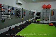 67 Ideas For Fitness Design Gym Basements Diy Home Gym, Gym Room At Home, Home Gym Decor, Garage Gym, Basement Gym, Clinic Interior Design, Gym Interior, Fitness Design, Home Gym Design