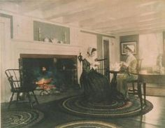 Wallace Nutting - Scenes Of Colonial Interiors