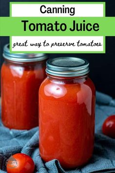 Fresh Tomato Juice Recipe, Homemade Tomato Juice, Canning Tomato Juice, Tomato Juice Recipes, Canning Whole Tomatoes, Canning Vegetables, Fresh Fruits And Vegetables, Tomato Canning Ideas, Canning Salsa