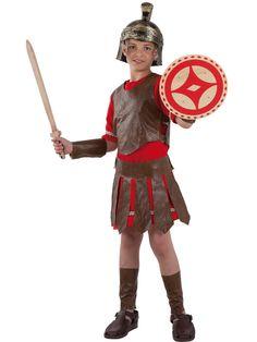 Disfraz romano guerrero infantil                                                                                                                                                                                 Más