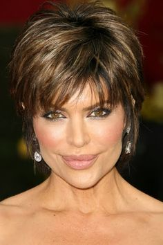 Lisa rinna hairstyles see how to style lisa rinna's short layered shag hairstyle and pictures of the various ways lisa styles this look with highlights. Description from shorthairstyle2013.net. I searched for this on bing.com/images