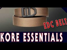 Kore Gun Belt Reviews Kore essentials vs klik belts vs nexbelt vs 5.11. kore gun belt reviews