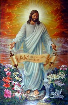 """Why should I believe in the resurrection of Jesus Christ? """"For I delivered to you as of first importance what I also received: that Christ died for our sins in accordance with t… Pictures Of Jesus Christ, Religious Pictures, Spiritual Pictures, Bible Pictures, Christian Images, Christian Art, Croix Christ, Image Jesus, Jesus E Maria"""