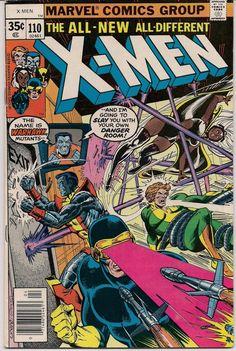 XMEN #110 Bronze Age Comics 1978 JOHN BYRNE Chris Claremont X-Men series Wolverine Storm Nightcrawler Colossus