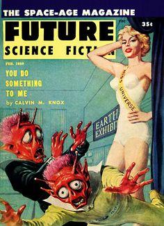 Pulp Sci-Fi & Fantasy Cover Art: Ed Emshwiller
