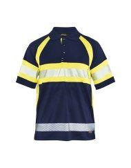 Blaklader 3338 High Vis Workwear Class 1 Polo Shirt