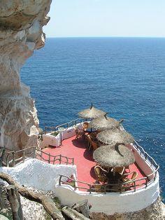 Cova d'en Xoroi, Minorca, Spain