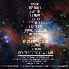 Zaq Blaq: Visions (Complete Album)
