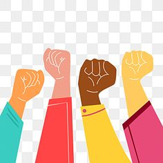 Different Skin Tones, Colors For Skin Tone, Women Sternum Tattoo, Hand Fist, Raised Fist, Different Races, Vector Logo Design, Photoshop, Peaceful Protest