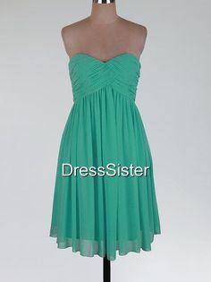 Green Bridesmaid Dress  Blue Bridesmaid Dress
