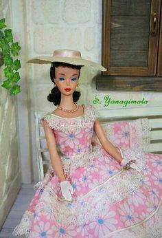"#4 Barbie wearing JE of ""Plantation Belle"""