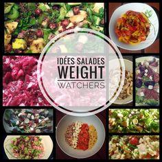 Voici quelques idées de salades weight watchers faciles et rapides. Elles sont classées par sp liberté weight watchers