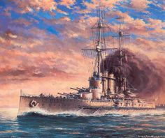 El acorazado Viribus Unitis de la Marina Imperial y Real de Austria-Hungría