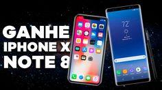 GANHE UM IPHONE X OU GALAXY NOTE 8