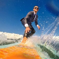 #instagram @caseyneistat #tbt that time @jcrew asked me to make a movie about their Traveler Suit and I wore it surfing.  lost a good pair of sunglasses that day https://instagram.com/p/0-xRtAJtYV/ // my instagram https://instagram.com/wolkanca