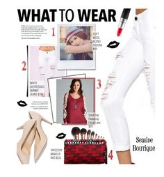 """""""What to Wear 4 Combo"""" by seaside-boutique ❤ liked on Polyvore featuring Charlotte Tilbury and MAC Cosmetics"""