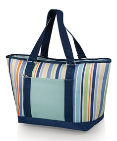 Look at this #zulilyfind! Blue St. Tropez Topanga Cooler Tote by Picnic Time #zulilyfinds