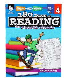 Grade 4 180 Days of Reading Workbook Set