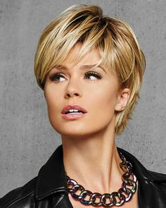 HD20030 - Textured Fringe Bob Synthetic Wig by Hair Do