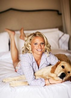 bride getting ready with dog... you HAVE to have the pups around :-)