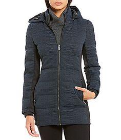 Zac Posen Fiona Down Hooded Walker Coat #Dillards