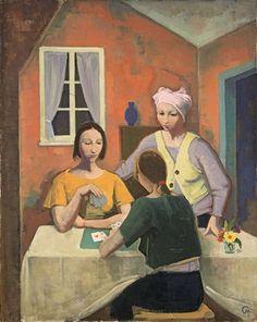 Carl Hofer (1878 – 1955 Berlin) was a German expressionist painter.