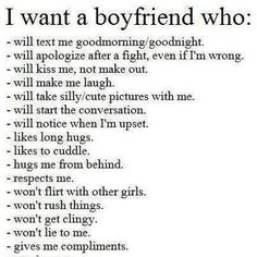 be a great boyfriend