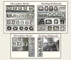 HH Silver Marks - Google Search  sc 1 st  Pinterest & How to read Hallmarks - A guide to reading hallmarks on British ...