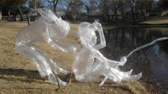 Scotch-tape-sculpture