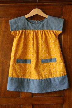 Ice Cream Dress - I am working on a few for Fiona and the other little girls in the family.  It is a wonderfully versatile pattern.