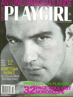 Playgirl ~ Antonio Banderas