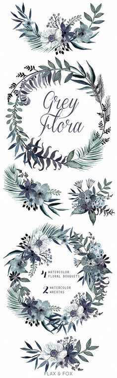 This set of high quality hand painted water-colour floral Bouquets and Wreaths. Perfect graphic for wedding invitations, greeting cards, photos, posters, quotes and more.  -&-  INSTANT DOWNLOAD Once payment is cleared, you can download your files directly from your Etsy account.  -&-  This listing includes:  4 x Bouquets in PNG with transparent background and JPG with white background 2 x Wreaths in PNG with transparent background and JPG with white background  Bouquets & Wreaths size…