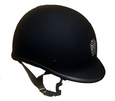 Worlds smallest DOT approved helmet reverse polo style, thinnest style for motorcycle riders available for sale from Leather Bound in New Jersey. Dot Approved Motorcycle Helmets, Dot Approved Helmets, Black Motorcycle Helmet, Leather Motorcycle Gloves, Novelty Motorcycle Helmets, Half Helmets, Riding Helmets, Skull Cap Helmet