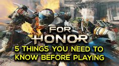 [video] For honor beta is approaching here's five things you need to know before diving into the battle fields. #Playstation4 #PS4 #Sony #videogames #playstation #gamer #games #gaming