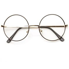 dfb9dbd9aaa Vintage lennon inspired clear lens round frame glasses 9222 (785 RUB) ❤  liked on
