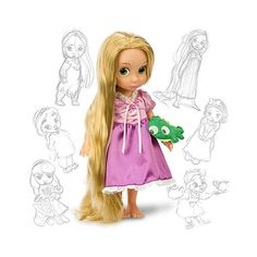 Le Petit Tom ® - Disney Princess Dolls - Prinses poppen via Polyvore