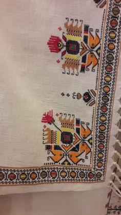 Elsa, Bohemian Rug, Folk, Cross Stitch, Embroidery, Traditional, Decor, Diy, Punto De Cruz