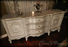 have a piece of furniture I would like to paint like this.