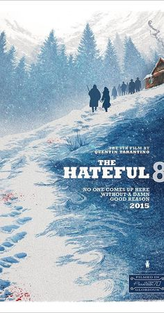 Directed by Quentin Tarantino. With Channing Tatum, Samuel L. Jackson, Kurt Russell, Jennifer Jason Leigh. In post-Civil War Wyoming, bounty hunters try to find shelter during a blizzard but get involved in a plot of betrayal and deception. Will they survive?