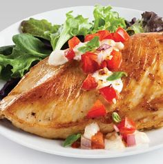 Even your kids will love this Bruschetta Chicken, created by Chef Jackie, a Hy-Vee store chef from Lee's Summit.