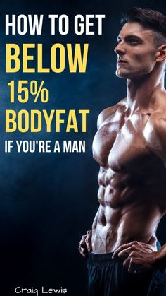 Do you want to decrease your bodyfat but couldn't find any tips? Here are some ways to get below 15% bodyfat. Give it a go! Tips Fitness, Muscle Fitness, Fitness Man, Weight Loss Motivation, Weight Loss Tips, Lose Weight, Fast Muscle Growth, Squat, Ripped Workout