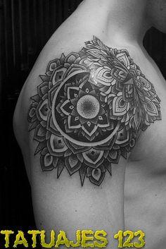 flor de loto mandala tatuaje - Buscar con Google